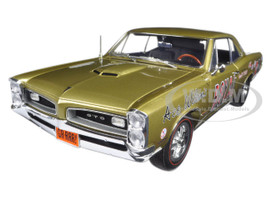 Ace Wilson's Royal 1966 Pontiac GTO Tiger Drag Car Copper Limited Edition 1/18 Diecast Model Car Acme A1801206
