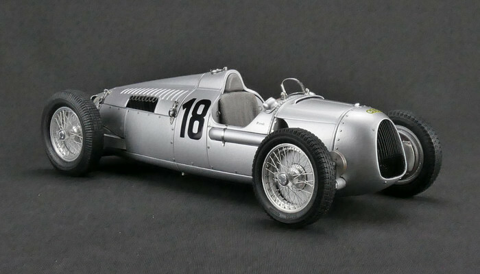 1936 Auto Union Type C #18 Eifel Race Bernd Rosemeyer Limited Edition to 1500pcs 1/18 Diecast Model Car CMC 161
