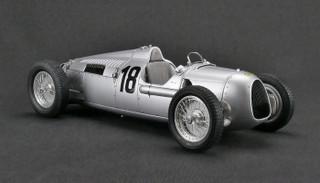 Auto Union Type C #18 Bernd Rosemeyer Eifel Race Nurburgring 1936 Limited Edition 1500 pieces Worldwide 1/18 Diecast Model Car CMC 161