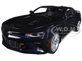 2016 Chevrolet Camaro SS 50th Anniversary Blue Velvet Metallic Limited Edition to 1002pcs 1/18 Diecast Model Car Autoworld AW239