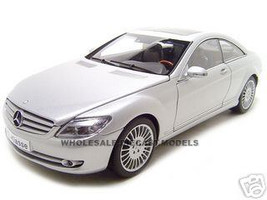 Mercedes CL Class 1/18 Silver Diecast Model Car Autoart 76164