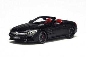 Mercedes AMG SL 63 Black Limited Edition to 1000pcs 1/18 Model Car GT Spirit GT117