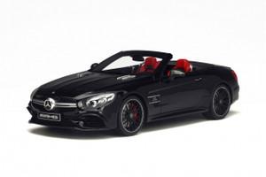 Mercedes AMG SL 63 Black Limited Edition to 1000pcs 1/18 Model Car GT Spirit GT117