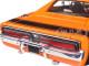 1969 Dodge Charger R/T Harley Davidson Orange 1/25 Diecast Model Car Maisto 32196