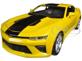 2016 Chevrolet Camaro SS Yellow 1/18 Diecast Model Car Maisto 31689