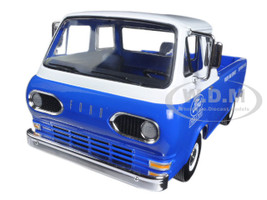 1960's Ford Econoline Pickup Blue with Boxes Ford Tractor Parts & Service 1/25 Diecast Model Car First Gear 40-0395