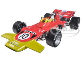 Lotus 72C #10 Jochen Rindt 1970 Dutch Grand Prix Winner Limited Edition to 330pcs 1/18 Diecast Model Car Quartzo 18274