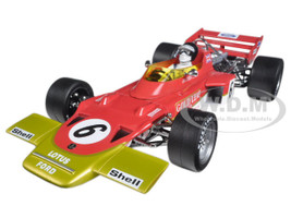 Lotus 72C #10 Jochen Rindt 1970 France Grand Prix Winner Limited Edition to 330pcs 1/18 Diecast Model Car Quartzo 18275