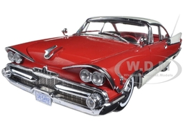 1959 Dodge Custom Royal Lancer Hard Top Ruby/Pearl Platinum Edition 1/18 Diecast Model Car Sunstar 5492