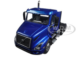 Volvo VNR 300 Day Cab Space Blue Metallic 1/50 Diecast Model Car First Gear 50-3364
