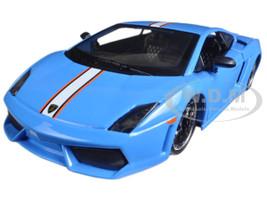 """Lamborghini Gallardo LP 560-4 Satin Blue """"Exotics"""" 1/24 Diecast Model Car Maisto 31352"""