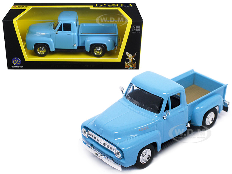 1953 FORD F-100 PICKUP DARK BLUE 1/43 DIECAST MODEL CAR ROAD SIGNATURE 94204 Toys & Hobbies