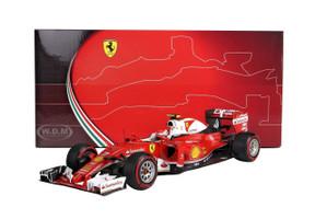 Ferrari SF16-H F1 China GP 2016 Kimi Raikkonen #7 1/18 Model Car BBR 181617