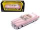 1949 Cadillac Coupe De Ville Pink 1/43 Diecast Model Car Road Signature 94223