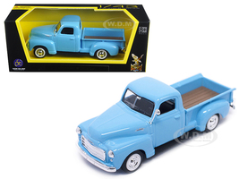 1950 GMC Pickup Truck Light Blue 1/43 Diecast Model Car Road Signature 94255