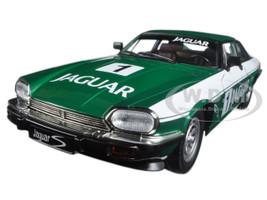 1975 Jaguar XJS Coupe Racing Green #1 1/18 Diecast Model Car Road Signature 92658