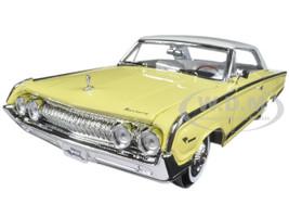 1964 Mercury Marauder Yellow 1/18 Diecast Model Car Road Signature 92568