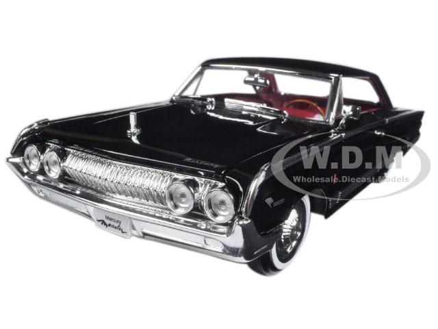 1964 Mercury Marauder Black 1 18 Diecast Model Car Road