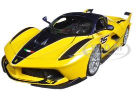 Ferrari FXX-K #15 Yellow 1/18 Diecast Model Car Bburago 16010