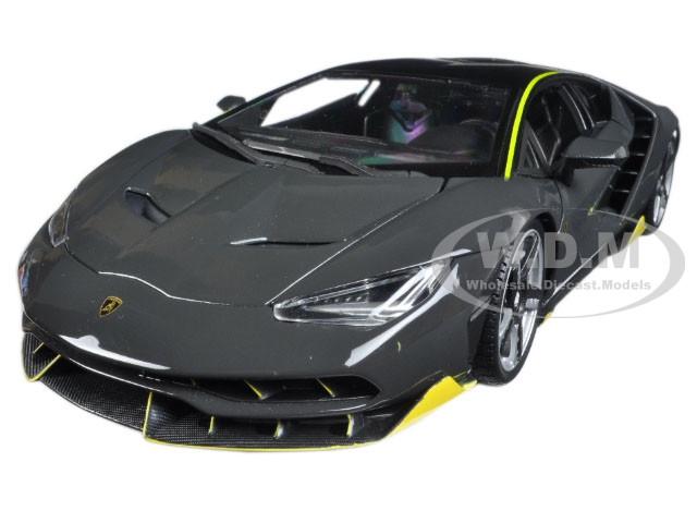Lamborghini Centenario Grey 1/18 Diecast Model Car Maisto 31386