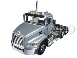 Mack Pinnacle Day Cab Silver 1/64 Diecast Model First Gear 60-0349