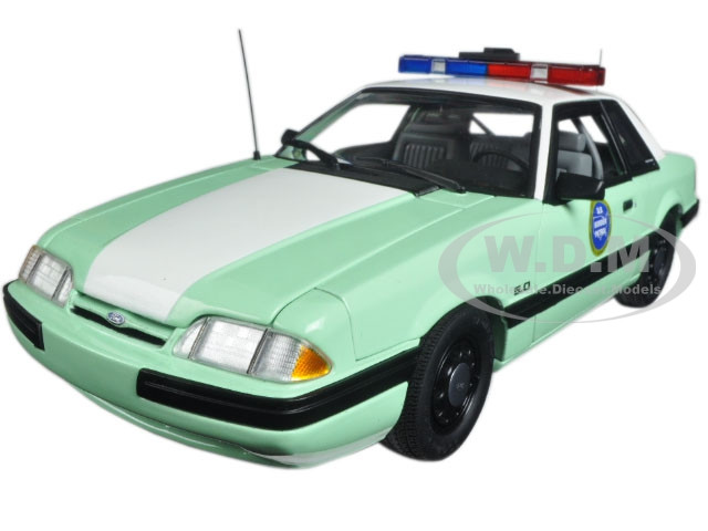 1988 Ford Mustang United States Border Patrol SSP Limited Edition to 558pcs  1/18 Diecast Model Car by GMP