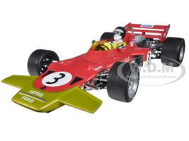 Lotus 72 1970 Spanish GP Jochen Rindt #3 1/18 Diecast Model Car Quartzo 18273