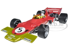Lotus 72C 1970 British GP Winner Jochen Rindt #5 1/18 Diecast Model Car Quartzo 18276