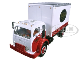 1953 White Super Power 3000 COE Delivery Van 1/34 Diecast Model Car First Gear 10-4084