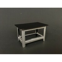 Metal Work Bench For 1:24 Scale Models American Diorama 77531