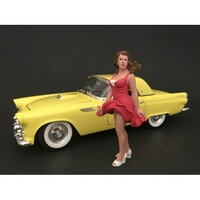 70's Style Figure VIII For 1:18 Scale Models American Diorama 77458