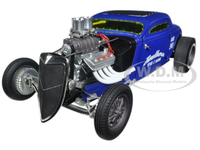 1934 Blown Altered Coupe Southern Speed & Marine Limited Edition 1/18 Diecast Model Car GMP 18829