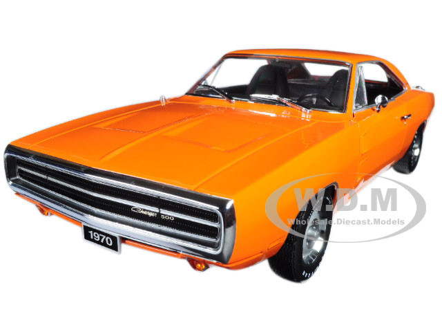 1970 Dodge Charger Hemi Orange Artisan Collection 1 18 Diecast