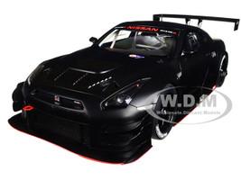 Nissan GT-R Nismo GT3 Matt Black 1/18 Model Car Autoart 81580