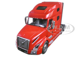 Volvo VNL 760 Sleeper Cab Cherry Bomb Red Metallic 1/50 Diecast Model First Gear 50-3371
