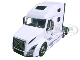 Volvo VNL 760 Sleeper Cab White 1/50 Diecast Model Car First Gear 50-3372
