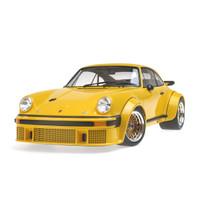 1976 Porsche 934 Yellow 1/12 Diecast Model Car Minichamps 125766401
