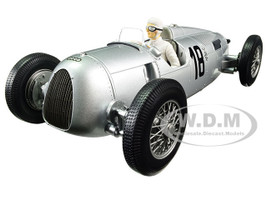 Auto Union Type C 1936 Winner Internationales Eifelrennen Bernd Rosemeyer #18 Limited Edition to 1002pcs with figure 1/18 Diecast Model Car Minichamps 155361018
