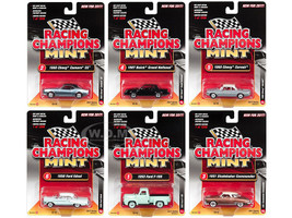 2017 Mint Release 2 Set A Set of 6 Cars 1/64 Diecast Model Cars Racing Champions RC004A