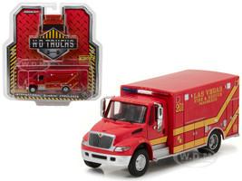 2013 International Durastar Las Vegas Fire & Rescue Paramedics Ambulance HD Trucks Series 9 1/64 Diecast Model Greenlight 33090 C