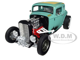 1932 Ford 5 Five Window Southern Speed and Marine Hot Rod Limited Edition 1/18 Diecast Model Car Acme A1805012