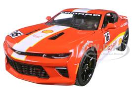 2017 Chevrolet Camaro SS Shell Oil Racing 1/24 Diecast Model Car Greenlight 18239