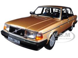 1986 Volvo 240 GL Gold Limited Edition to 504pcs 1/18 Diecast Model Car Minichamps 155171405