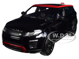 Range Rover Evoque Ember Limited Edition Santorini Black 1/18 Diecast Model Car Kyosho 9549