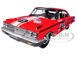 1963 Ford Galaxie 500 XL #15 B. WIilliams / M. Steele Goodwood Revival 2011 St. Mary's Trophy Race 1/18 Diecast Model Car Sunstar 1472