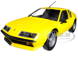 1977 Renault Alpine A310 Yellow 1/18 Diecast Model Car Norev 185143