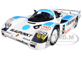 1988 Porsche 962 C #8 3rd Place LeMans Winter/ Jelinski/ Dickens 1/18 Diecast Model Car Norev 187410