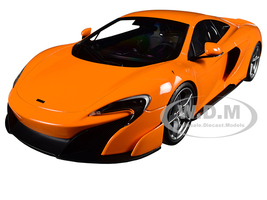 McLaren 675LT Orange 1/18 Diecast Model Car Kyosho C09541P