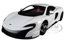 McLaren 675LT White 1/18 Diecast Model Car Kyosho C09541W