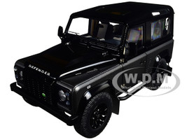 Land Rover Defender 90 Autobiography Corris Grey and Santorini Black 1/18 Diecast Model Car Kyosho 08901 CGR